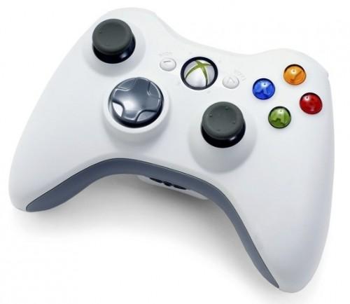 Microsoft Xbox 360 Wireless Controller (fehér) - Xbox 360 Kiegészítők