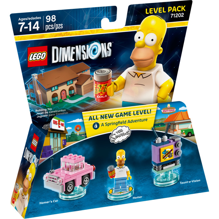LEGO Dimension The Simpsons Level Pack 71202