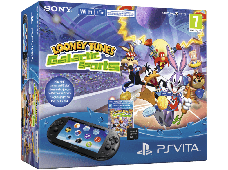 Sony Playstation Vita (PS Vita) WiFi 8GB + Loney Tunes Játék