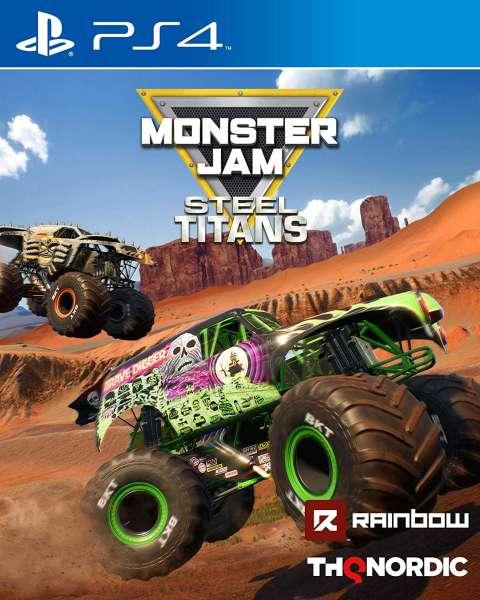 Monster Jam Steel Titans - PlayStation 4 Játékok