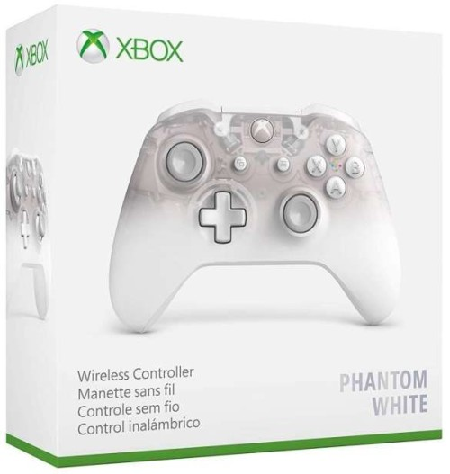 Xbox One Wireless Phantom White 3.5mm Jack csatlakozóval