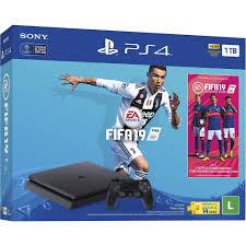 PlayStation 4 Slim 1TB + FIFA 19