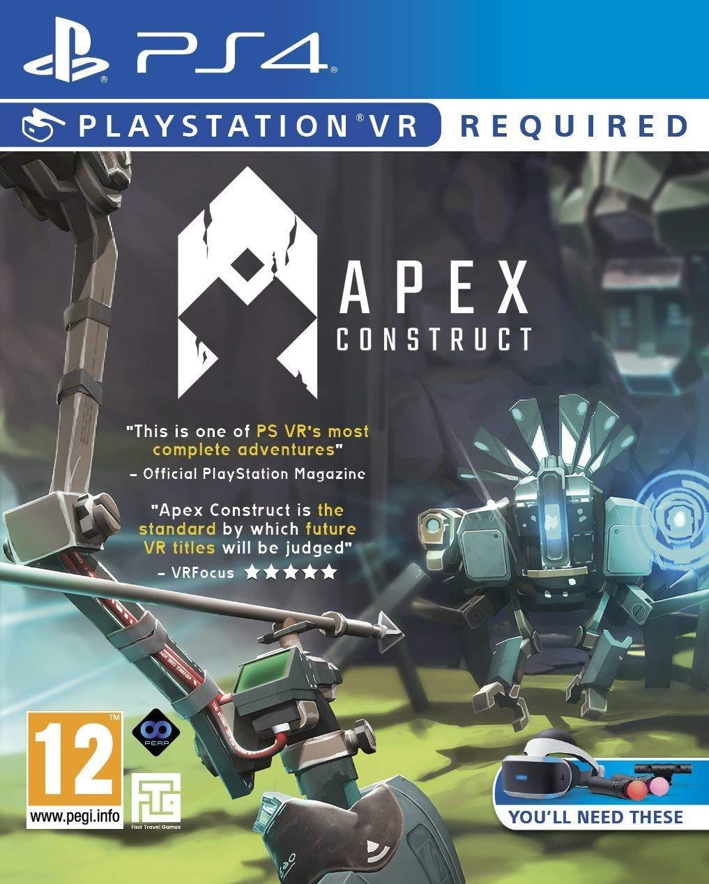 Apex Construct - PlayStation 4 Ps4 VR játékok