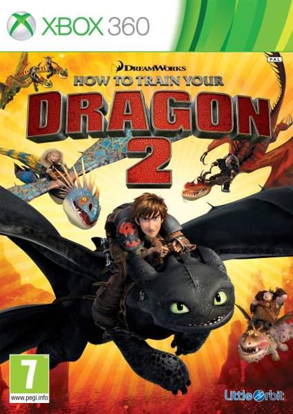 How to Train your Dragon 2 - Xbox 360 Játékok