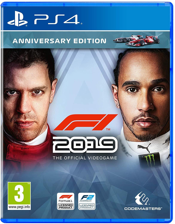 F1 2019 Anniversary Edition - PlayStation 4 Játékok