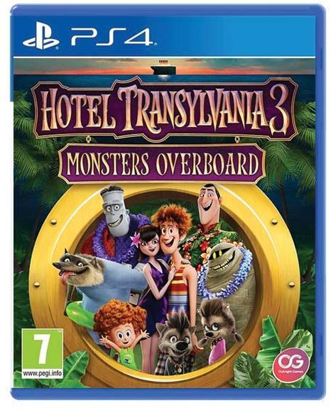 Hotel Transylvania 3 Monsters Overboard - PlayStation 4 Játékok