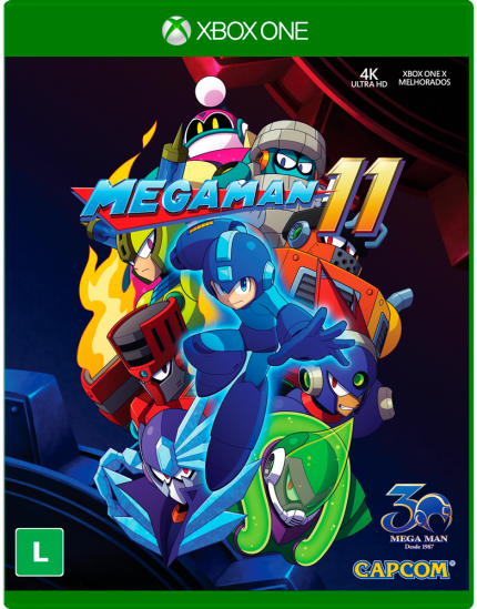 Megaman 11 - Xbox One Játékok