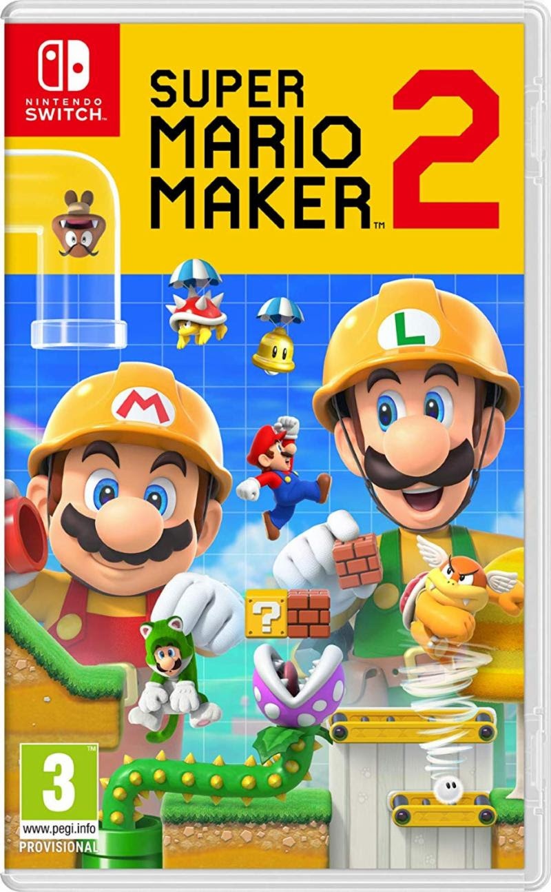 Super Mario Maker 2 - Nintendo Switch Játékok