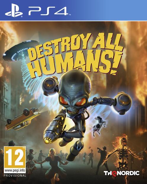 Destroy All Humans! - PlayStation 4 Játékok