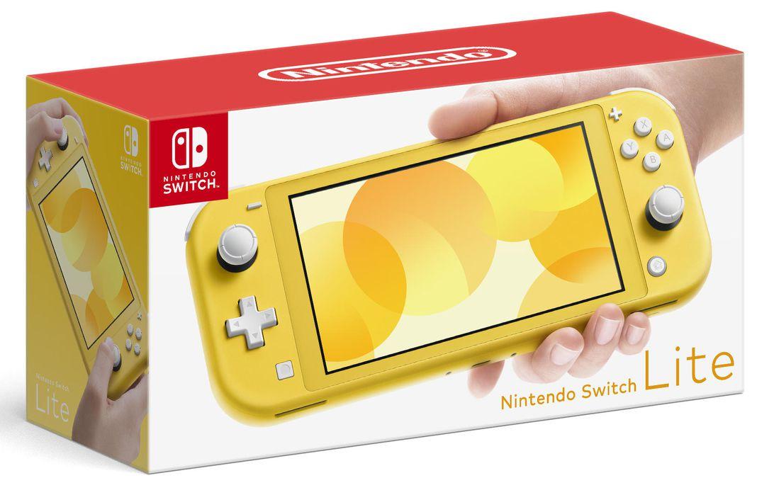 Nintendo Switch Lite (Yellow) - Nintendo Switch Gépek