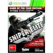 Sniper elite v2 goty - Xbox 360 Játékok