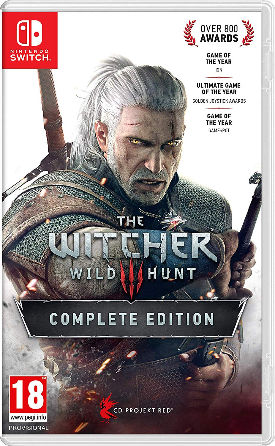 The Witcher 3 Wild Hunt Complete Edition - Nintendo Switch Játékok