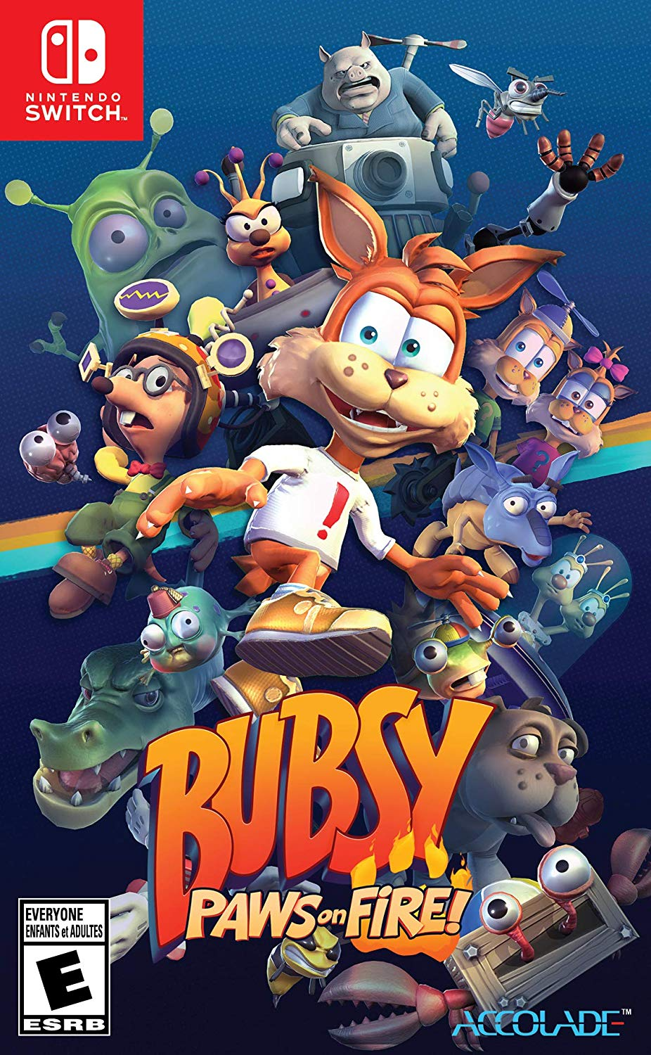 Bubsy Paws On Fire Limited Edition
