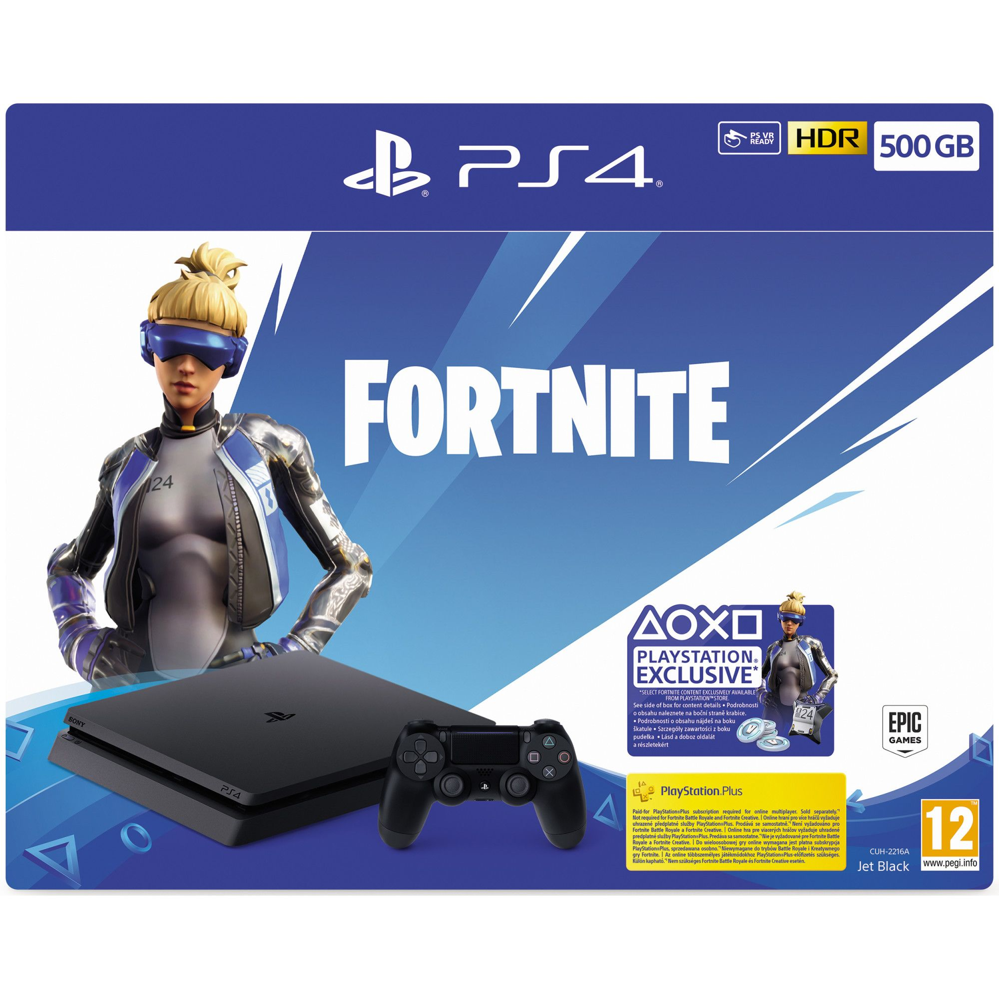 PlayStation 4 Slim 500GB Fortnite Neo Versa Bundle