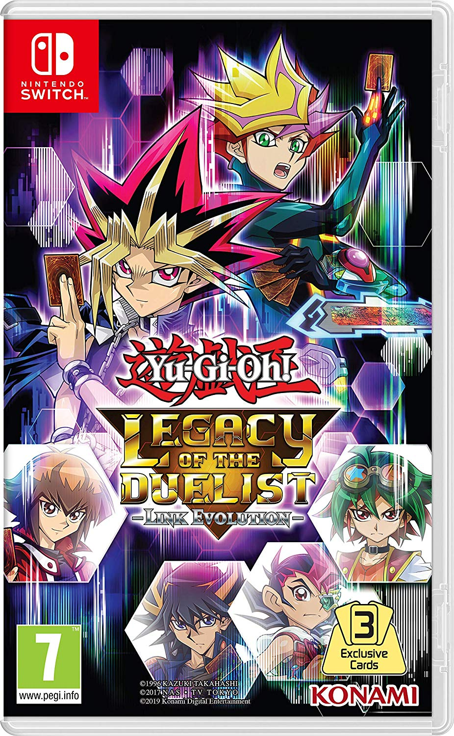 Yu-Gi-Oh KONLODNS Legacy of The Duelist Link Evolution
