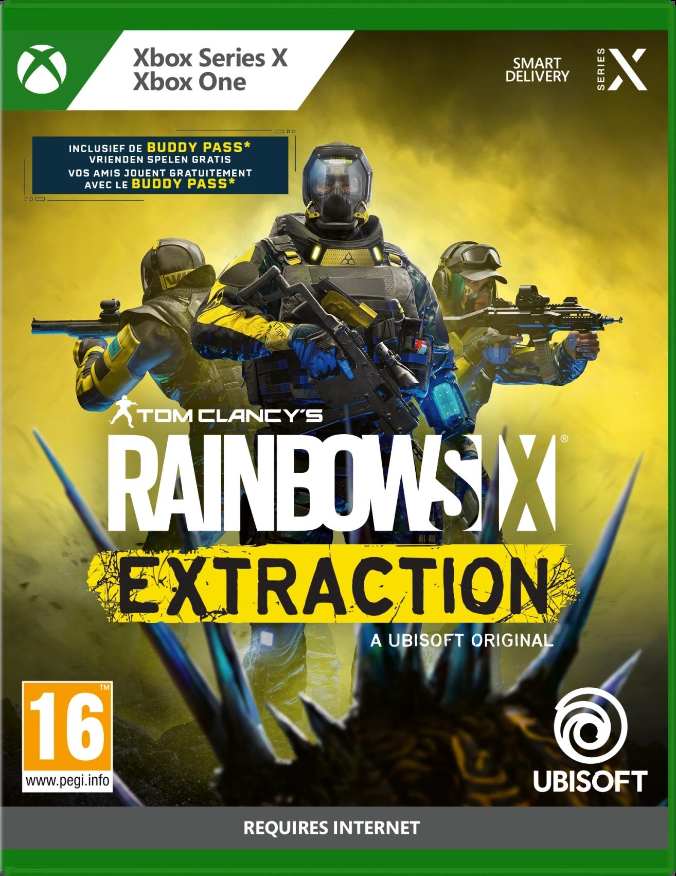 Rainbow Six Extraction (Xbox One kompatibilis)
