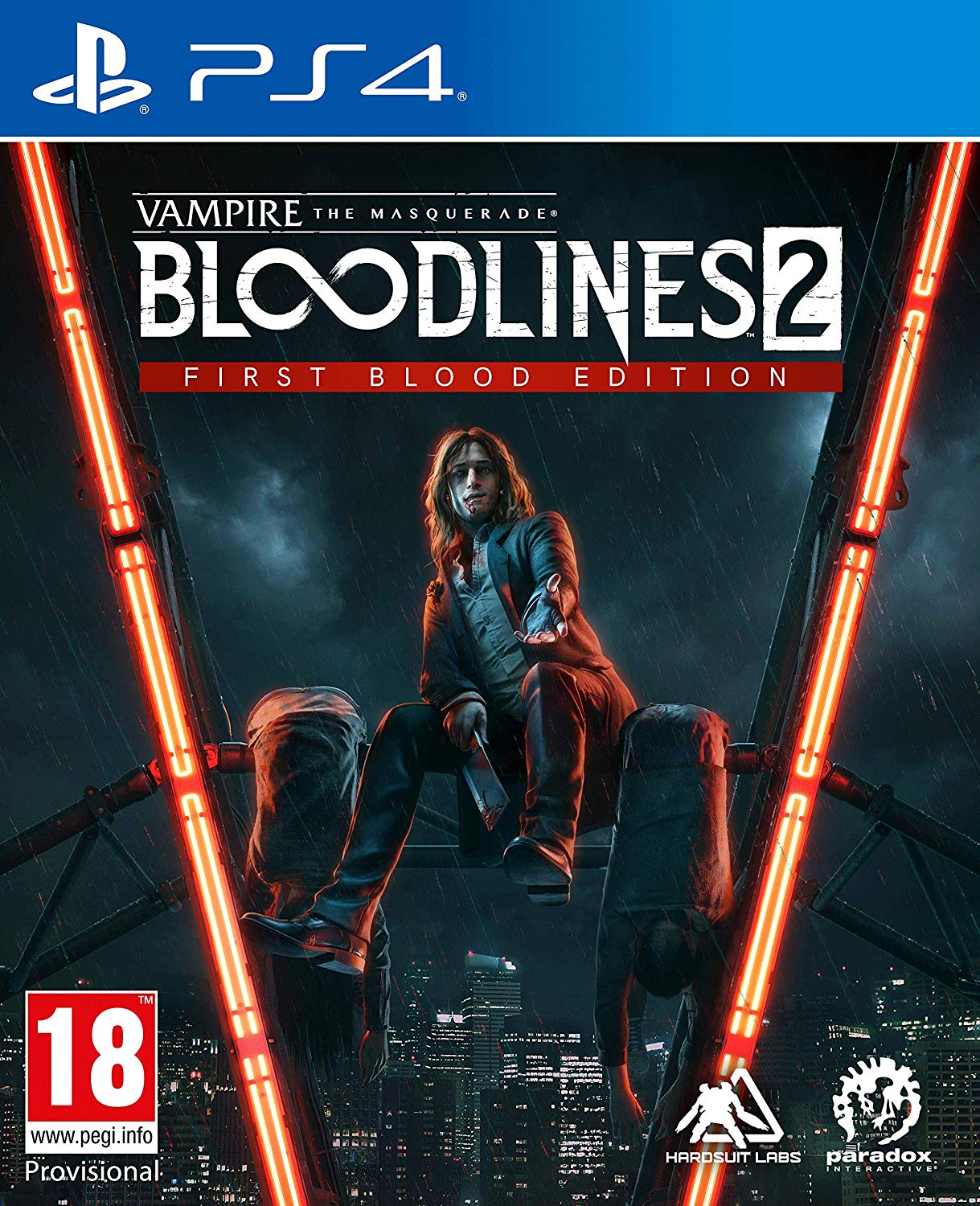 Vampire The Masquerade Bloodlines 2 First Blood Edition
