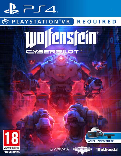 Wolfenstein Cyberpilot (VR) - PlayStation 4 Ps4 VR játékok