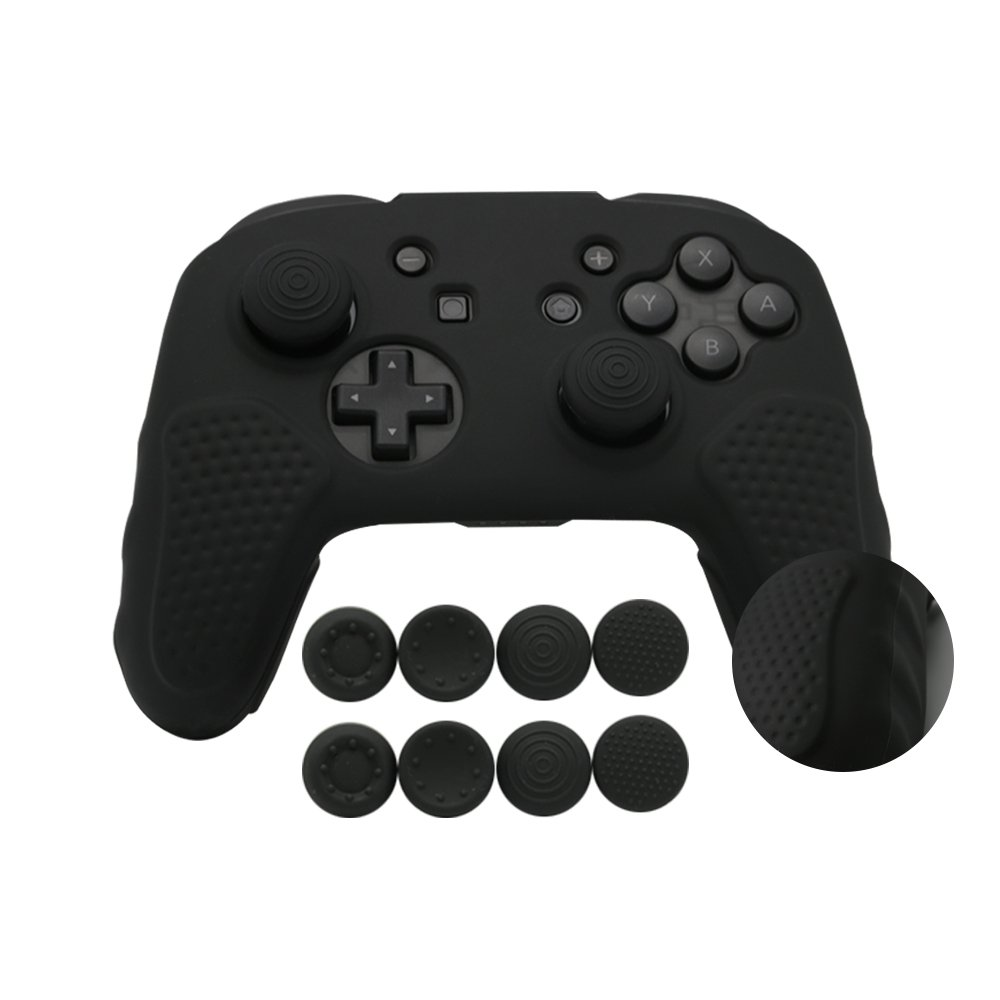 Silicone controller skin switch pro (Fekete)