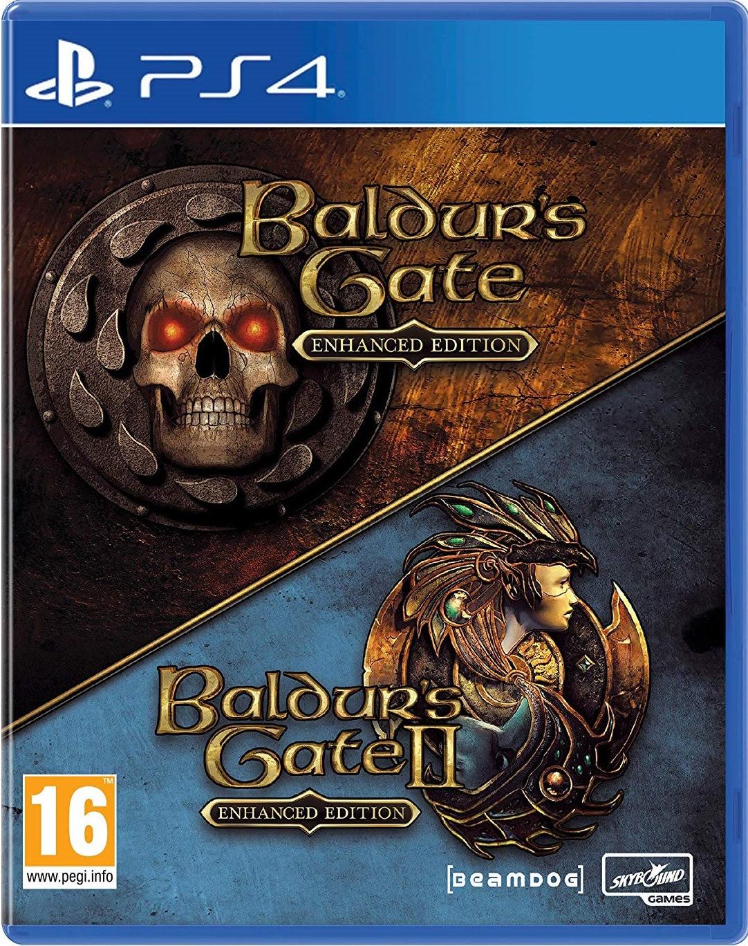 Baldurs Gate 1+2 Enhanced Edition - PlayStation 4 Játékok