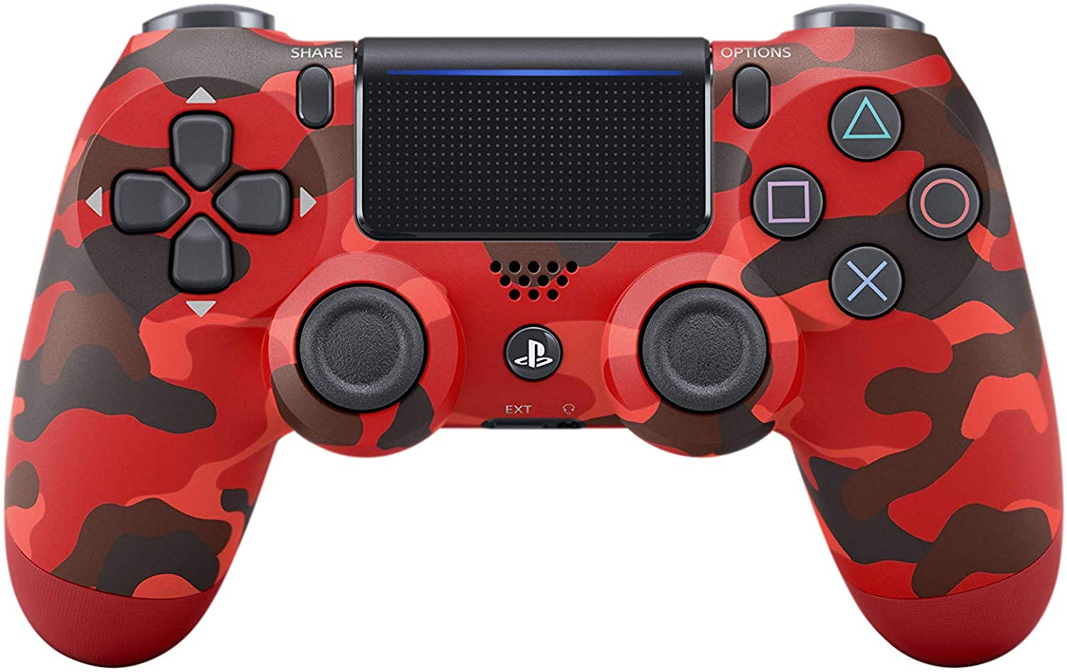 Sony PlayStation 4 Dualshock 4 Wireless Controller Red Camo
