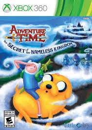 Adventure Time The Secret Of The Nameless Kingdom - Xbox 360 Játékok