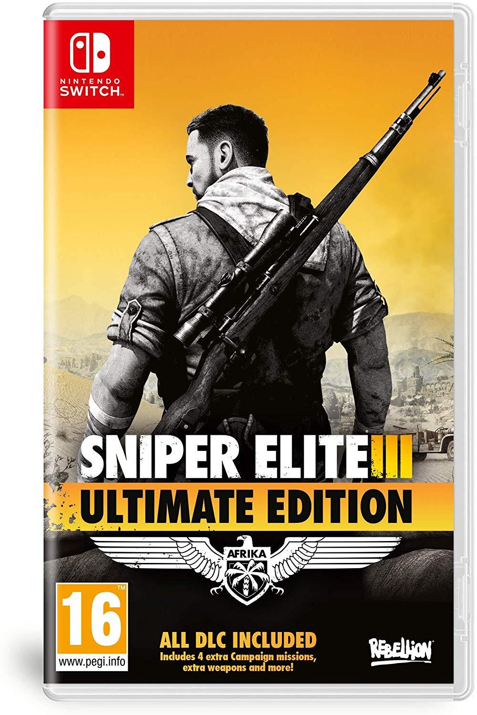 Sniper Elite 3 Ultimate Edition - Nintendo Switch Játékok