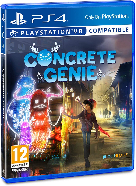 Concrete Genie - PlayStation 4 Játékok