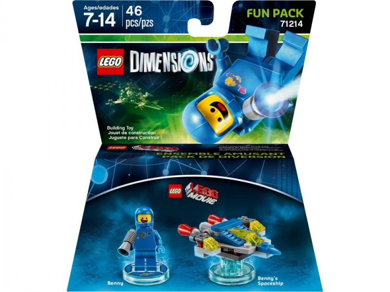 Lego Dimensions The Lego Movie Fun Pack (71214)