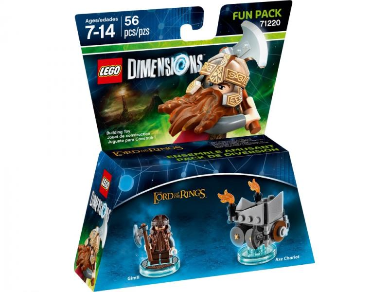 Lego Dimensions The Lord of the Rings Fun Pack (71220)