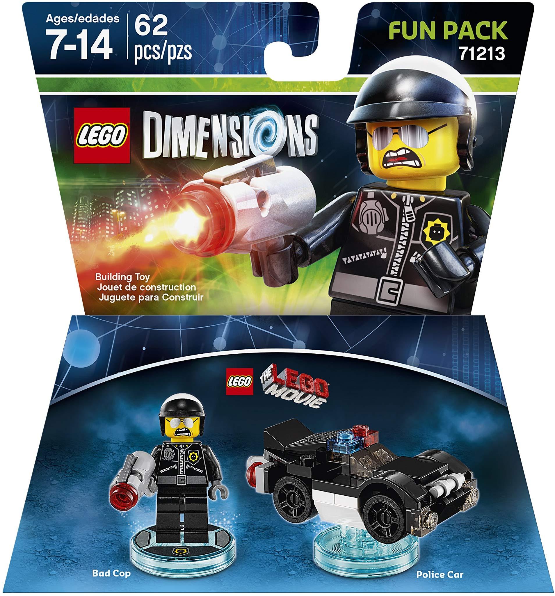 LEGO Dimensions  LEGO Movie Fun Pack Bad Cop + Police Car (71213)
