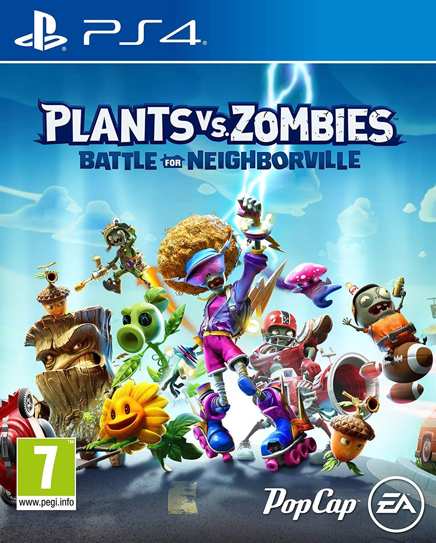 Plants vs. Zombies Battle for Neighborville - PlayStation 4 Játékok