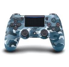 Sony Playstation 4 Dualshock 4 Blue Camouflage Wireless Controller