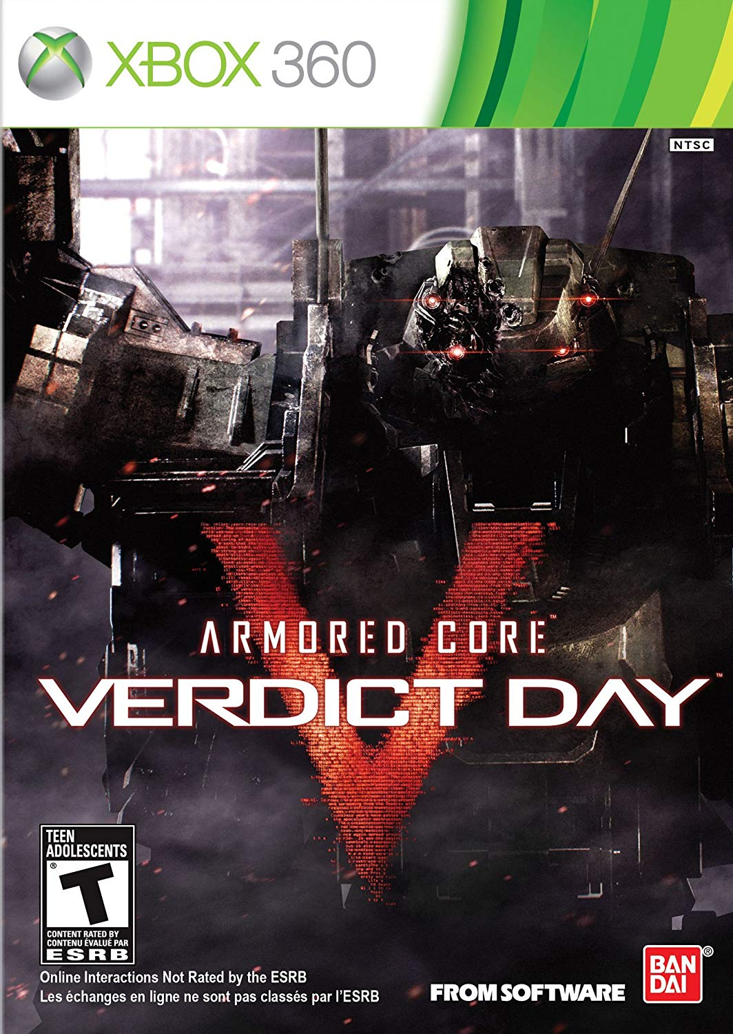 Armored Core V Verdict Day
