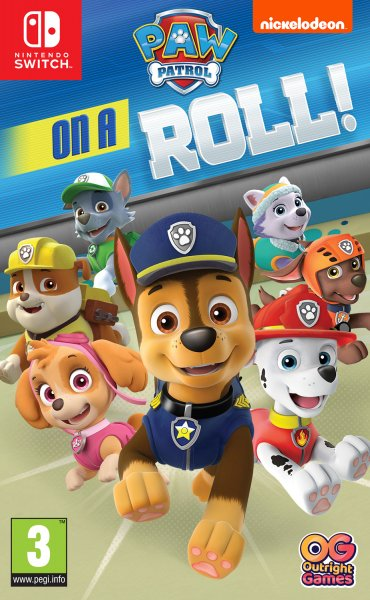 Nickelodeon Paw Patrol On A Roll