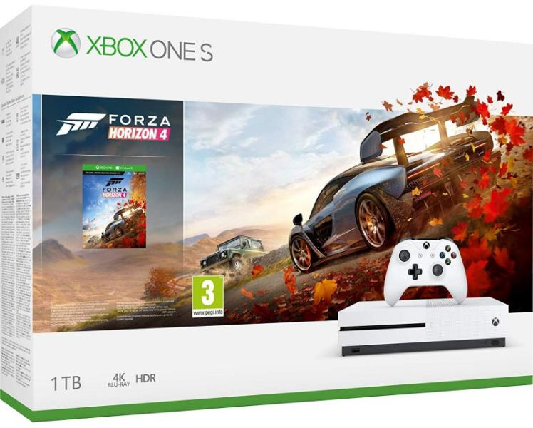 Microsoft Xbox One S 1 TB Forza Horizon 4 Bundle