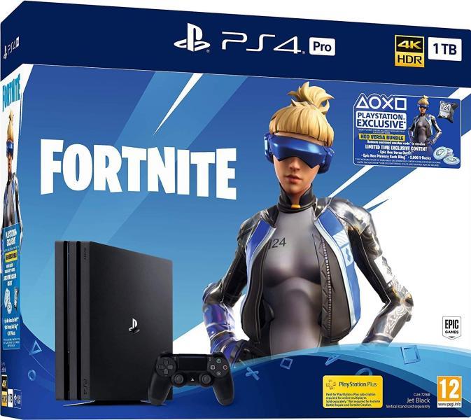 Playstation 4 Pro 1TB Fortnite Neo Versa Bundle