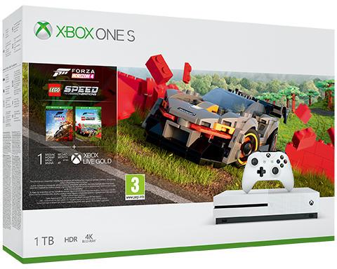 Xbox One S 1TB + Forza Horizon 4 + Lego Forza Horizon 4 Speed Champions