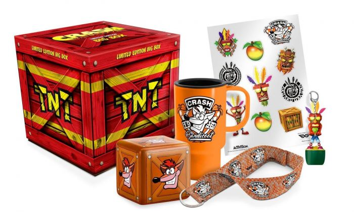 Crash Bandicoot Limited Big Box