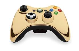 Xbox 360 Wireless Controller Gold /arany/