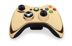Xbox 360 Wireless Controller Gold /arany/
