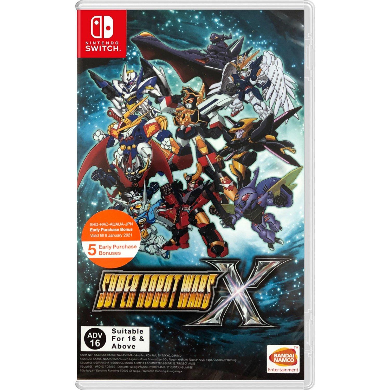 Super Robot Wars X  - Nintendo Switch Játékok
