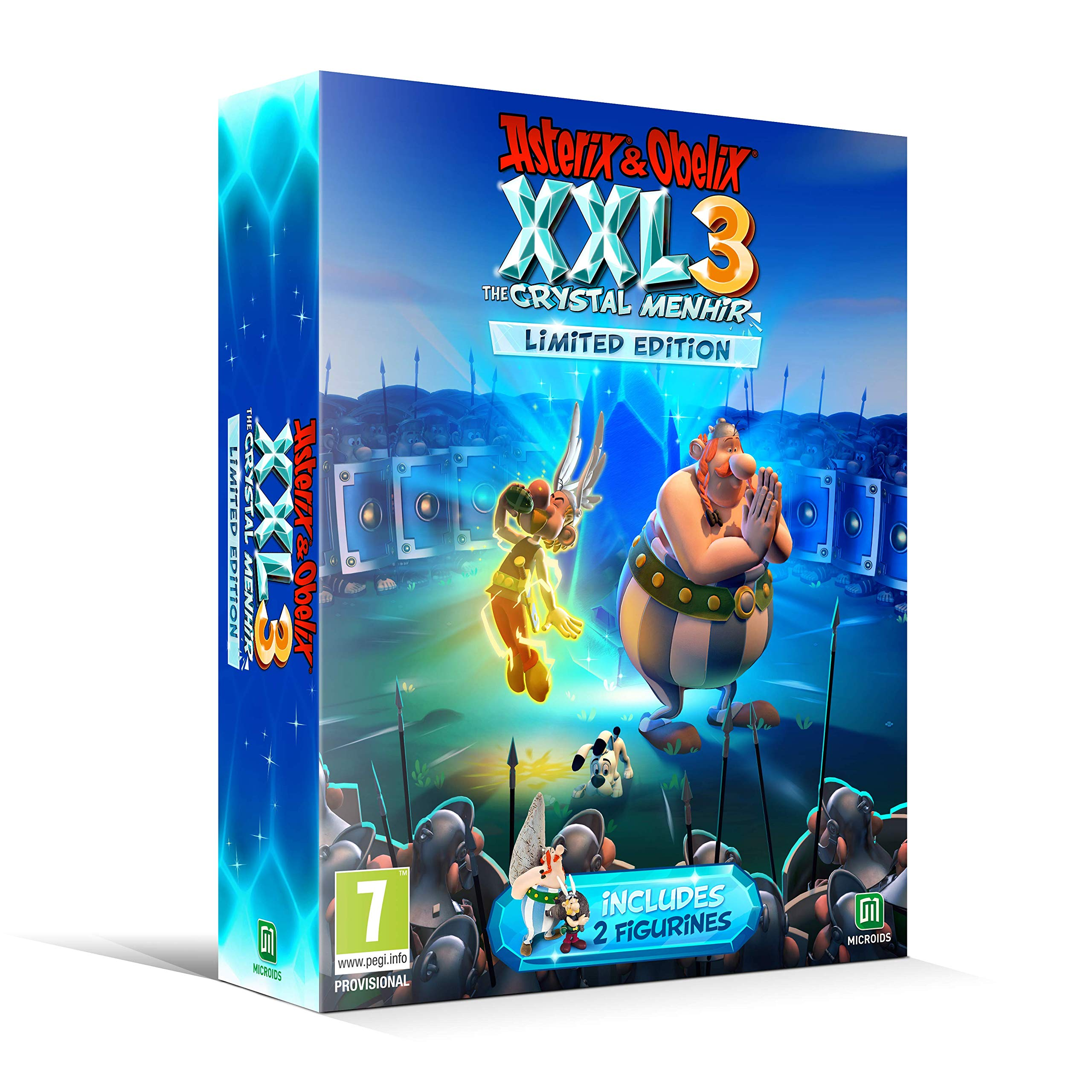 Asterix & Obelix XXL 3 The Crystal Menhir Limited Edition