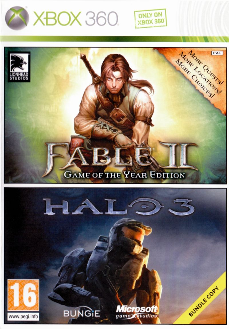 Fable 2+Halo3