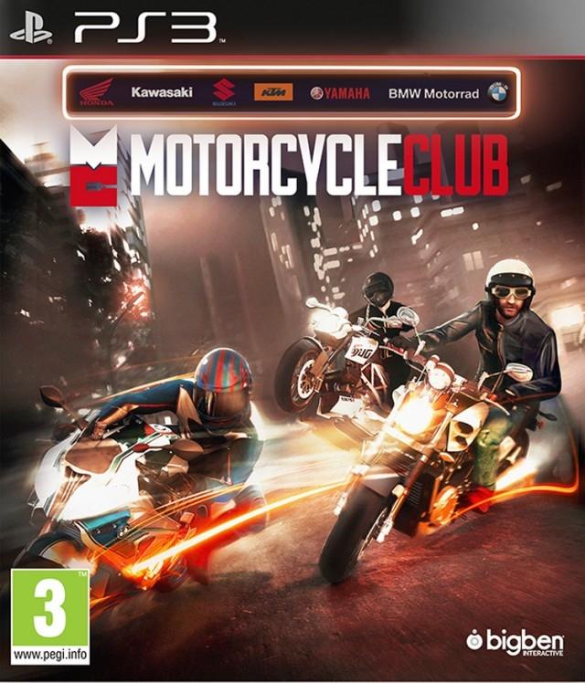 Motrocycle Club - PlayStation 3 Játékok