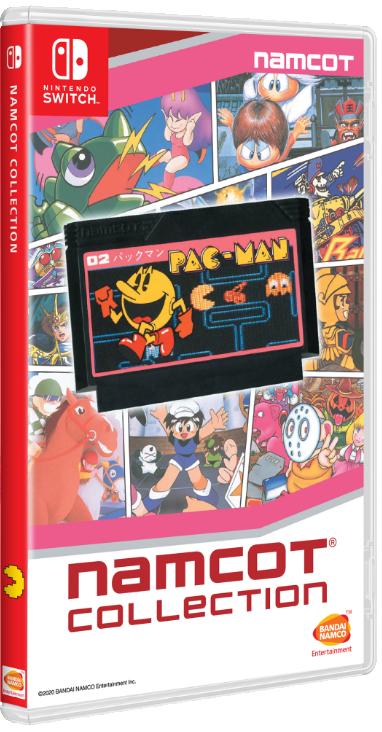 Namcot Collection (japán, multilanguage)