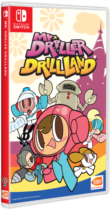 Mr Driller DrillLand (japán, multilanguage)