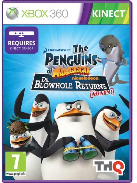 The Penguins of Madagascar Dr Blowhole Returns Again - Xbox 360 Játékok