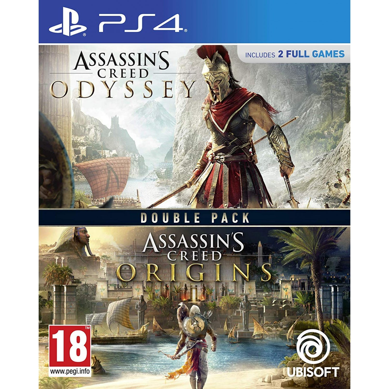 Assassins Creed Odyssey And Origins Double Pack