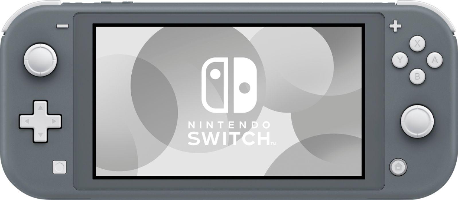 Nintendo Switch Lite (Grey)+(Ajándék Zelda Tokkal)